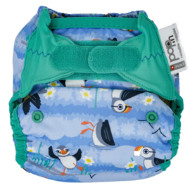 Close Pop-in bamboo (Bio-laminate) Puffin (velcro)