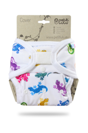 Petit Lulu Onesize Überhose Geckos (Klett)