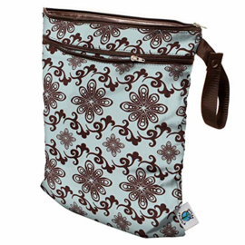 Planet Wise Wet/dry bag - Aqua Swirl