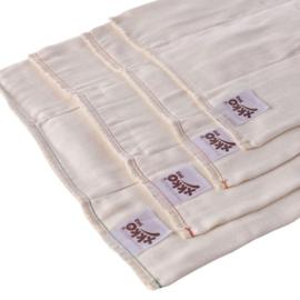 XKKO Bambus Prefolds (6-Pack)