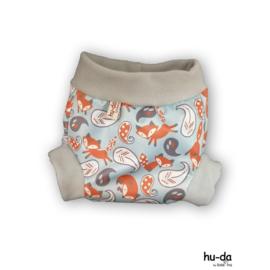 Hu-da PUL-Fleece overbroekje - Fox