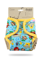 Petit Lulu Überhose Onesize School Jungle (Snaps)