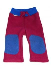 Hu-da wollen Walk-longie - Berry-blauw