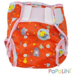 Popolini Easywrap (onesize) - Birdy Red