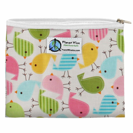 Planet Wise mini Wetbag (of Snackbag) - Chick a dees
