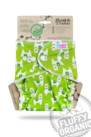 Petit Lulu onesize Fluffy Organic - Alpacas (Snaps)