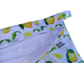 Fluffy Nature Wetbag met Wasnet - Citrus