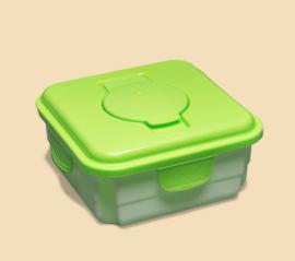 Cheeky wipes - Box für benutzte Tücher - Grün (Neues Modell)