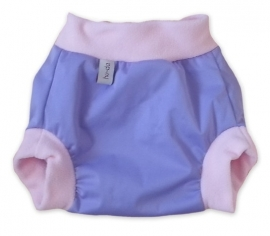 Hu-da PUL-Fleece overbroekje - violet