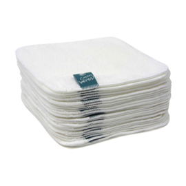 Cheeky wipes - katoen witte billendoekjes (25 st)