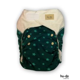 Hu-da Bamboe JUNIOR green stars petrol (9-20kg)