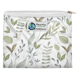 Planet Wise mini Wetbag (of Snackbag) - Beleaf in yourself Poly