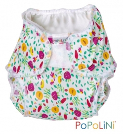 Popolini Onesize Soft -Dagpakket met overbroekje (print)
