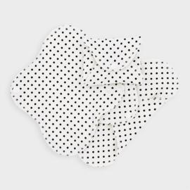 ImseVimse wasbare inlegkruisjes slimline Black dots (3st)