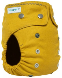 Puppi Wollüberhose Curry (Snaps) - Onesize