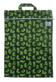 Fluffy Nature Wetbag XL - Green Octopus