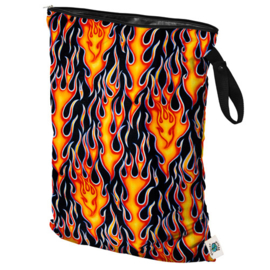 Planet Wise Extra Grote Wetbag - Flame