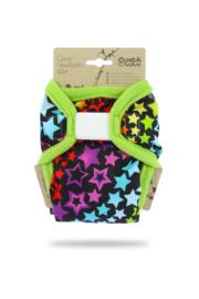 Petit Lulu overbroekje Newborn Rainbow stars