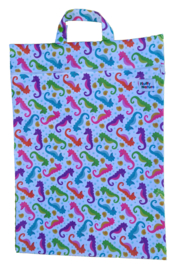 Fluffy Nature wetbag XL - Seahorses