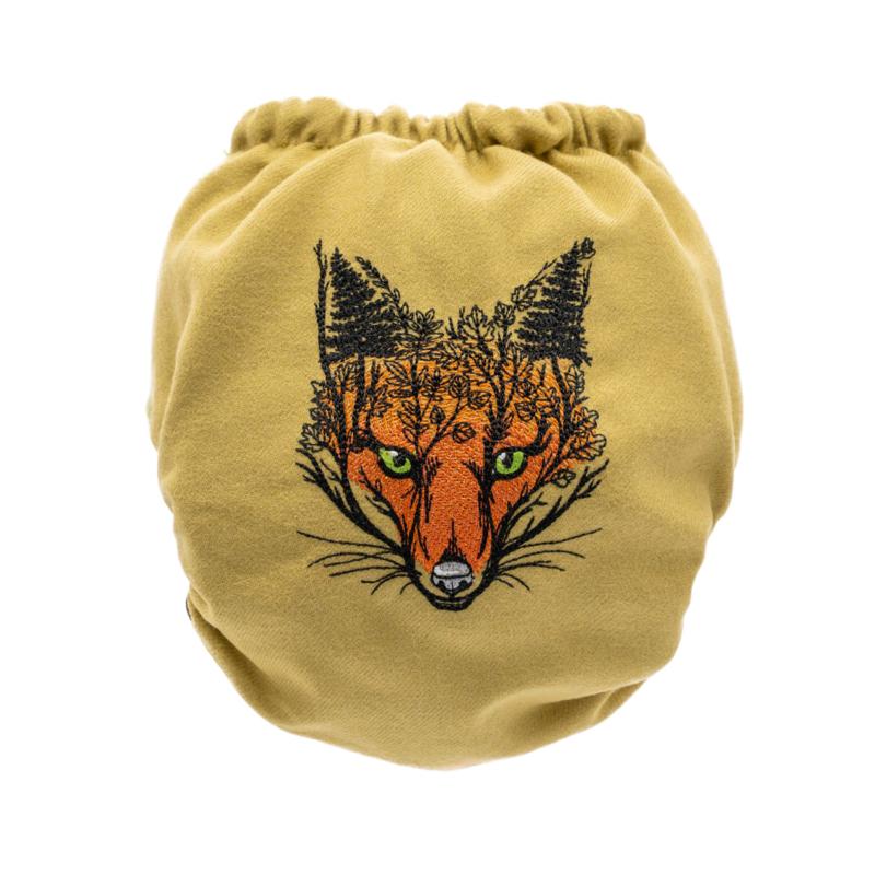 Doodush wollen overbroekje Fox (drukknoop) - Onesize