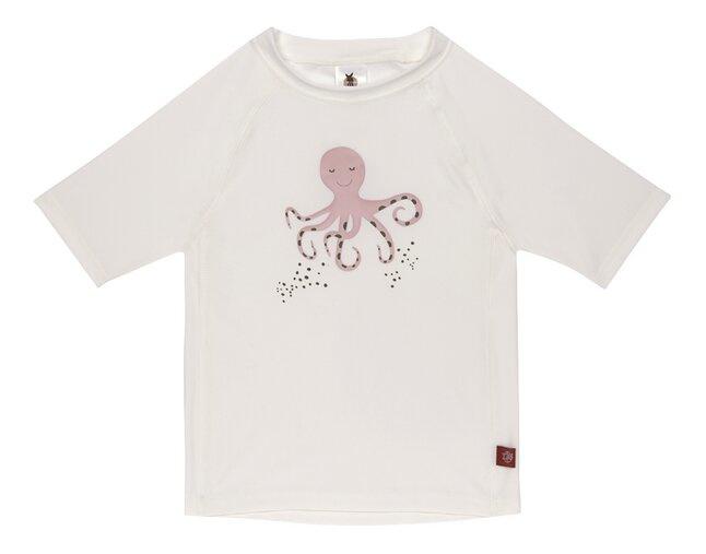 Lässig UV-Shirt Octopus White
