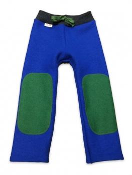 Hu-da wollen Walk-longie - Blauw-Groen