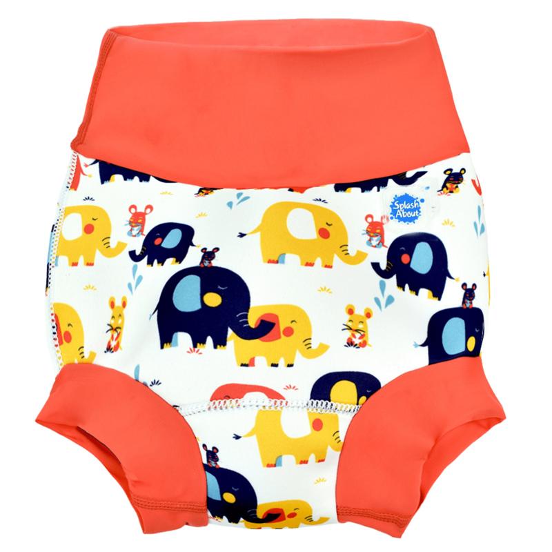 NEW Happy Nappy Zwemluier Little Elephants