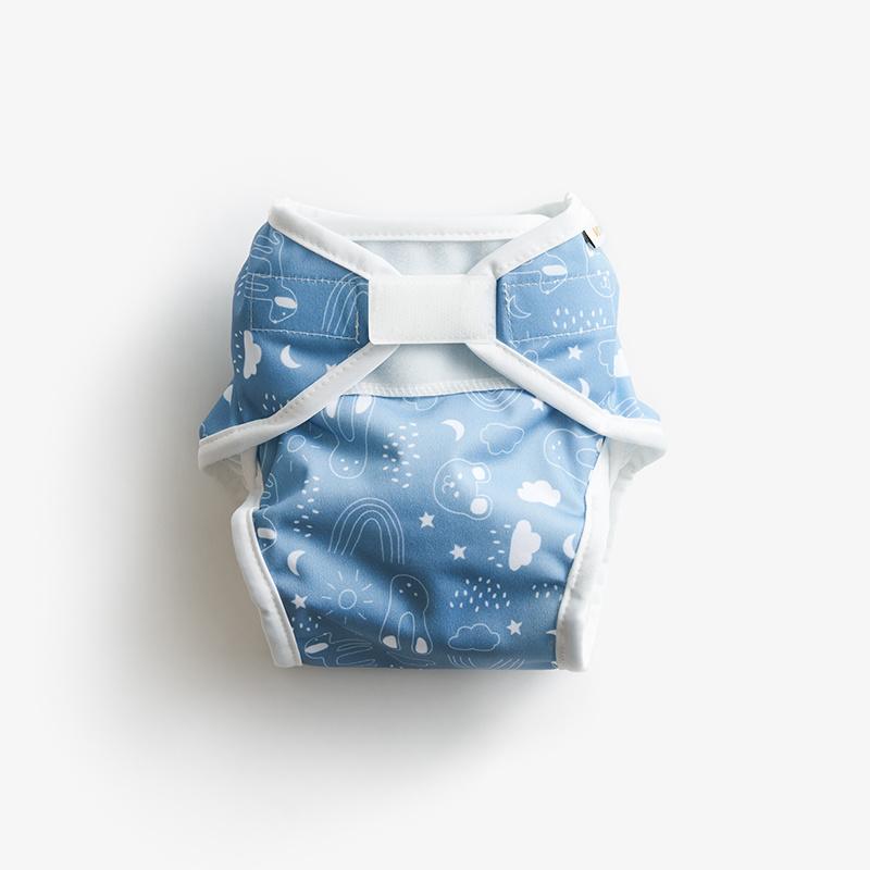 Vimse Soft overbroekje Blue teddy