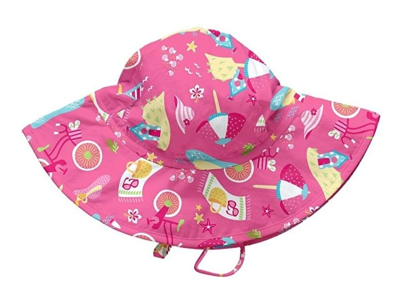 iPlay Sonnenhut Hot Pink Cabana (0-6 Monat)
