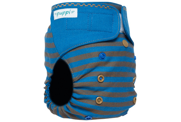 Puppi wollen overbroekje Mythical Galleon (velcro) - Onesize Plus(SIO)