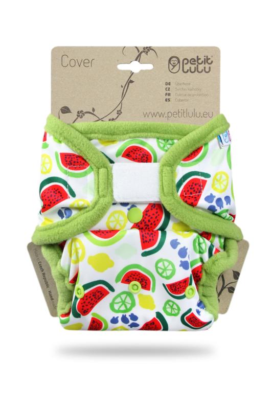 Petit Lulu overbroekje onesize Melons  (velcro)