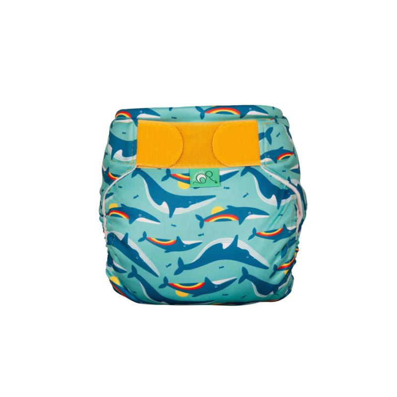 Totsbots Schwimmwindel Rainbow Whale (turquoise)