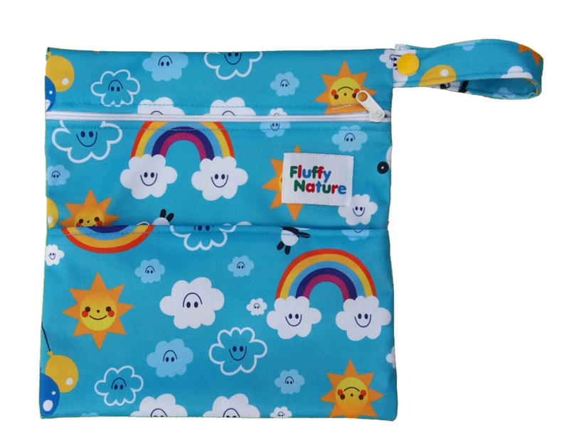 Fluffy Nature Mini-Wetbag Rainbow