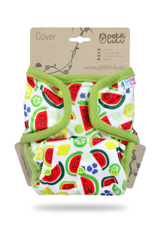 Petit Lulu overbroekje onesize Melons (druk)