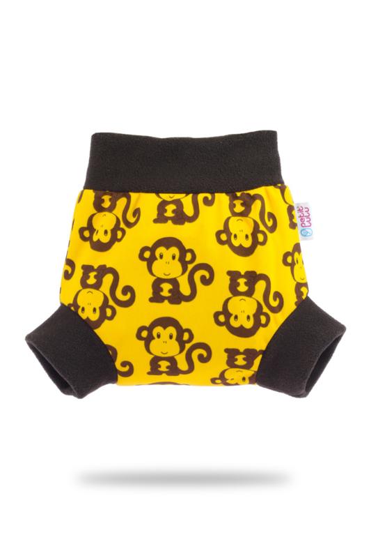 Petit Lulu Pull-up overbroekje - Monkey