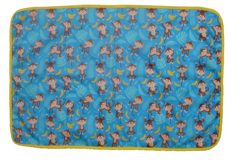 Fluffy Nature verschoningsmatje Blue Monkey
