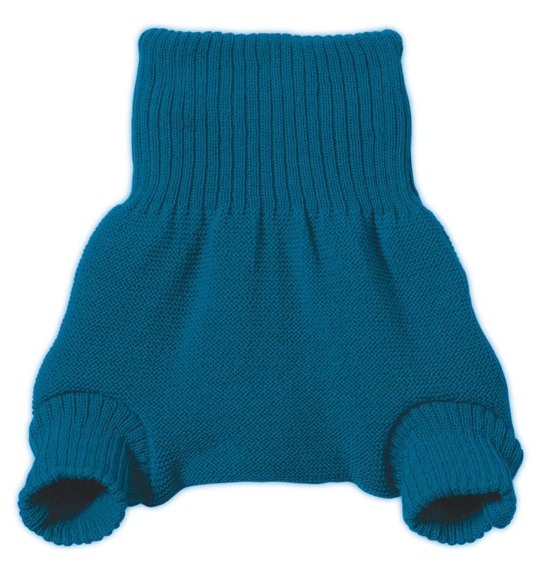 Disana Wollüberhose blau