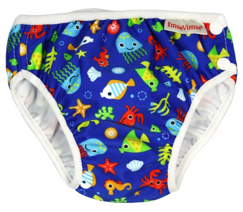 ImseVimse zwemluier Blue Sealife