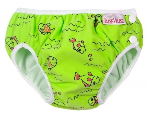 ImseVimse Schwimmwindel Green Fish