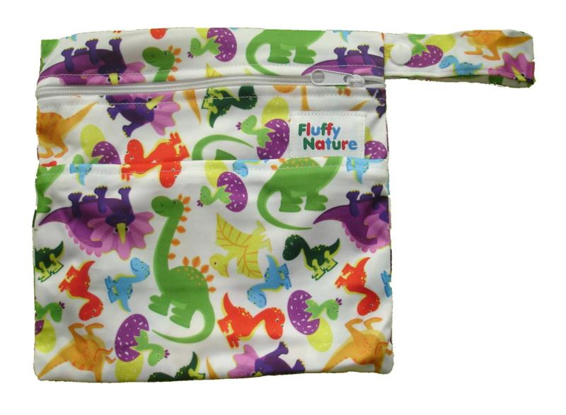 Fluffy Nature Mini-Wetbag Dino
