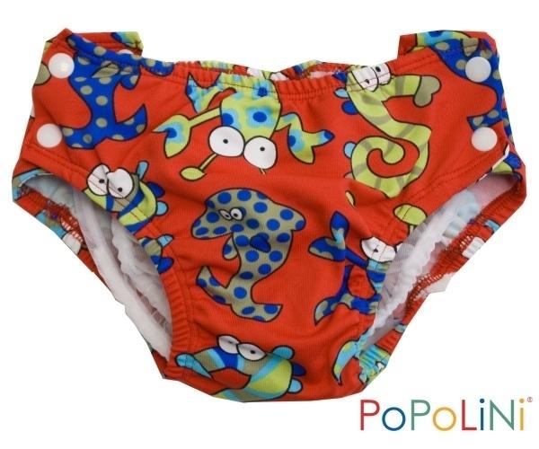 Popolini zwemluier Sea Monsters