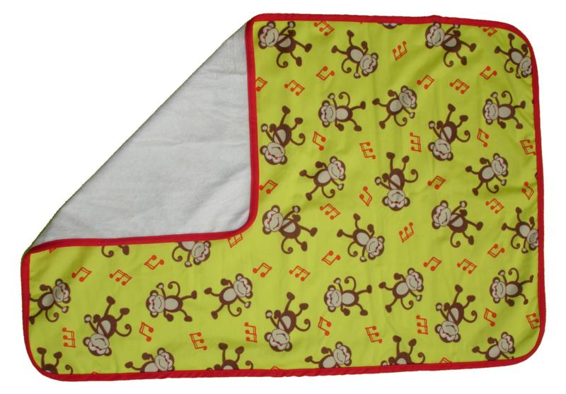 Fluffy Nature verschoningsmatje Yellow Monkey
