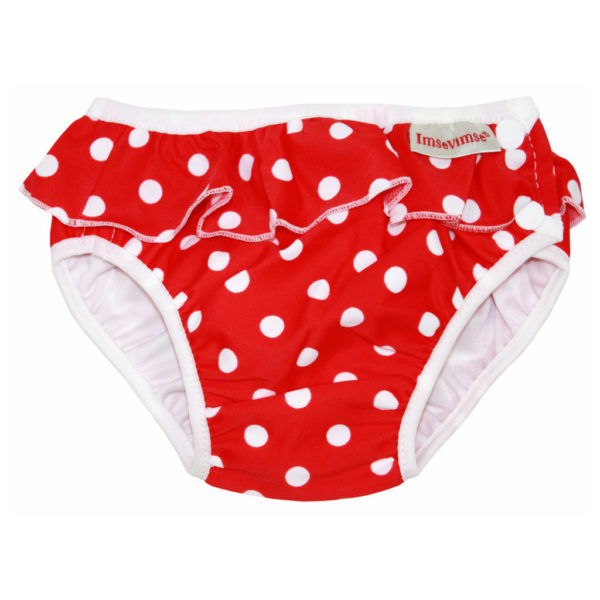 ImseVimse zwemluier Red Dots