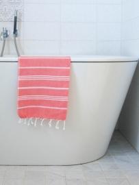 hamam handdoek koraal S