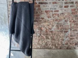 plaid wol Devon Dark Grey