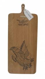 serveerplank tattoo eagle regtangular