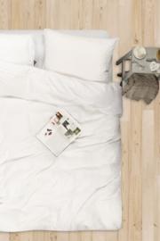 Belle dekbedovertrek, white