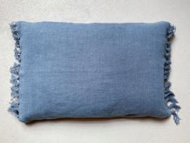 Jill sierkussenhoes, dark blue