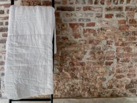 Amy Plaid, 100% linnen/100%cotton satin,White