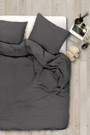 Sofie dekbedovertrek, dark grey